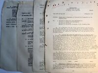 1940's USAF Vintage Documents Military Collectible Lot Columbia Langley