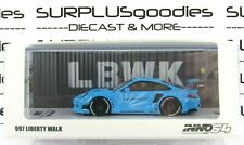 Inno64 1:64 2021 Liberty Walk Lbwk Baby Blue Porsche 997 Item # In64-997Lb-Bbl