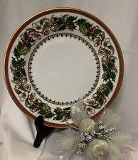 Spode Christmas Rose Salad Plate **NEW** Auth. Dealer Inv.