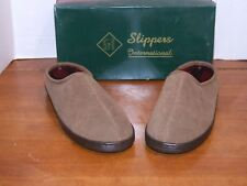Sippers International Allspice Suede Men's Slippers 11M