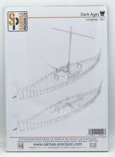 Sarissa Precision J021 Longship Dark Ages Viking Long Ship Miniature Terrain NIB