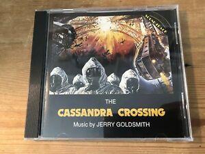CASSANDRA CROSSING (Jerry Goldsmith) OOP 1977/1990 RCA Score Soundtrack CD EX