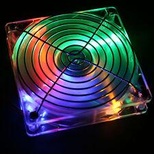 VENTOLA ACMECOM  LED RGB 8X8 80X80 TACHIMETRICA GRIGLIA VITI ADATTATORE