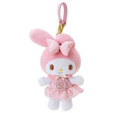 Sanrio Japan My Melody Flower Plush Doll Keychain Bag Mascot