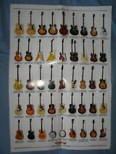 Epiphone guitars catalog poster