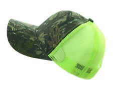Baseball Cap Mesh Trucker Snapback Plain Solid Adjustable Camo Military Army Hat