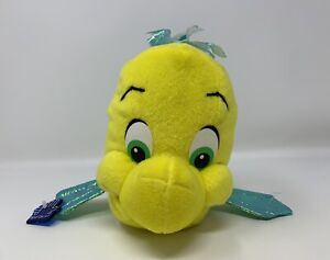 Applause Disney's The Little Mermaid Flounder Fish Plush Stuffed Animal Toy