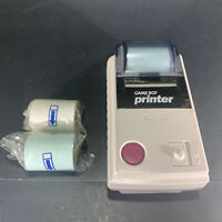 Nintendo Game Boy Printer w/2 New Rolls Paper + partial Roll Does Not Feed Paper