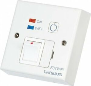 Timeguard FSTWIFI WiFi Controlled 13A Fused Spur Timeswitch Timer Android/IOS