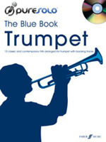 Pure Solo: The Blue Book (Trumpet) Trumpet CD, Sheet Music Backing Tracks