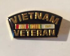 Vietnam Veteran Hat or Lapel pin-1 1/4 x 5/8 inch