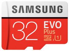 Samsung EVO Plus 32GB Class 10 MicroSDHC Memory Card - MB-MC32GA/EU