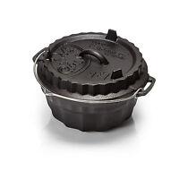 Petromax Gugelhupfform gf1 mit Tortenboden-Deckel Backform Dutch Oven Feuertopf