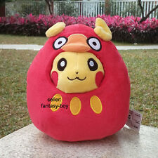 "Nintendo Pokemon Go Plush Toy Darumaka 7"" Zen Mode Pikachu Stuffed Animal Doll"