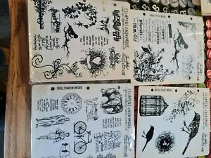 Tim Holtz Stampers Anonymous x4.