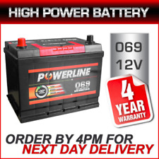 069 Powerline Car Battery fits many Alfas Bentley Daewoo Land Rover Range Rover