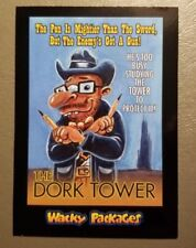 The Dork Tower Red Ludlow 17/25 2018 Topps Wacky Packages Go to the Movies