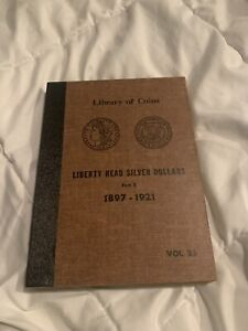 Library Of Coins Liberty Silver Dollars Vol 25 Coin Album