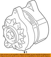 Dodge CHRYSLER OEM 06-08 Ram 2500-Alternator R6028697AA