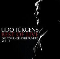 UDO JÜRGENS - BEST OF LIVE-DIE TOURNEEHÖHEPUNKTE-VOL.1 2 CD NEU