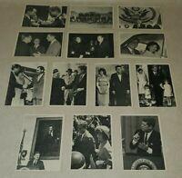 1960s Topps President John F. Kennedy 13 Card Lot - 2 5 7 8 17 22 25 29 42