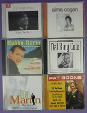 Selection of Easy Listening CDs - Frank Sinatra, Alma Cogan, Bobby Darin etc.