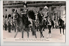 Vintage Postcard Queen Elisabeth II & Prince Phillip of Great Britian