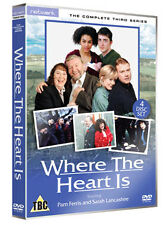 DVD:WHERE THE HEART IS - SERIES 3 - NEW Region 2 UK
