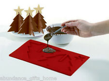 3D Christmas Tree Chocolate Silicone Mould 2 pc Set - Large & Small Trees  *NEW*