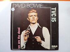 "RARE - 7"" DAVID BOWIE - TVC 15 - VG+/VG++ - RCA YBPB 0-433  - BELGIUM"
