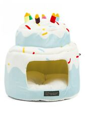 Blue Birthday Cake NANDOG Pet Bed NWT