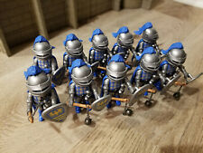 10 Blue Knight from EASTER EGGs 4916 Playmobil 2005 hard to find