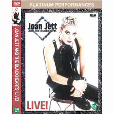 Joan Jett and The Blackhearts Live (DVD,All,Sealed,New)