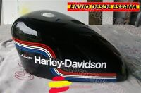 Kit Vinilos Deposito Pegatinas Laterales Motorcycle Harley Davidson AMF Custom