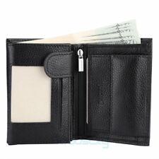Men Genuine Leather Clutch Wallet ID Bifold Business Credit 8 Cards Holder Purse