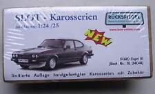 Ford Capri III  -  Slot Karosse   von bs-design 1:24 / 25
