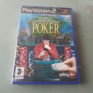 World Championship Poker Sony Ps2 *Sealed* free UK postage