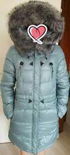Damen Winter Jacke / Parka mit abnehmbarer Pelzkragen Gr. XL ca. 38/40