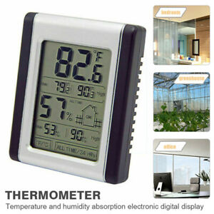 Digital LCD Weather Station Hygrometer Thermometer Indoor Humidity Temperature