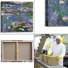 Monet ninfee 69 design quadro stampa tela dipinto telaio arredo casa
