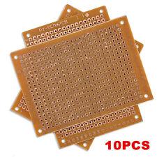 10PC New DIY PCB Universal Prototype Paper Matrix Circuit Board Stripboard 5x7CM
