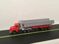 Majorette 3000 1/60 Scania Triaxle Dump semi tractor trailer truck