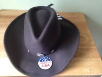 Stetson Cowboy Hat Unisex New With Tags