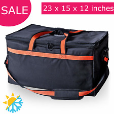 INSULATED COMMERCIAL FOOD DELIVERY BAG Hot/Cold Heavy Duty Catering Grocery Bags