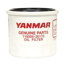 GENUINE YANMAR MARINE 3YM20 OIL FILTER, 119305-35151  119305-35150  119305-35160