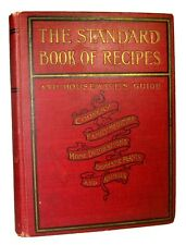 ANTIQUE COOKBOOK VICTORIAN VINTAGE COOKERY Household DECORATION Family MEDICAL