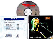 STING  Mad About You, Live Chicago April 9,1991 Italy Press CD VERY RARE