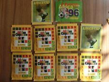 Panini 10 x Bags Bundle * Africa Cup 1996 * 2008 * 2010 *