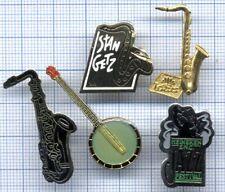 Lot Pin's Musique Heineken Festival Jazz instruments joueur saxo banjo STAN GETZ