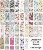 Deco Mache Paper Sheets ** First Edition ** 3 Sheets per pack ** Over 60 designs